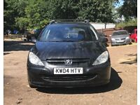 Estate, Peugeot 307 S for sale, MOT, drives perfect.