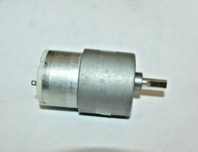 12v Dc 100rpm High Torque Gear Motor 37mm Non Center New