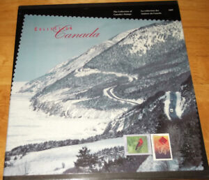 Stamp Collection books-Canada Post - 1997,1998, & 1999 available