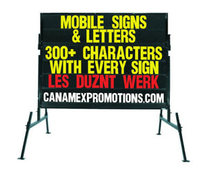 Professional Portable Signs .. Mobiles