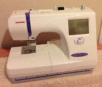 Janome Memory Craft 300-E Embroidery machine