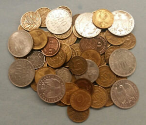 Lots of German coins from Imperial to Third Reich.