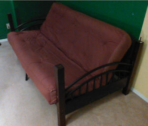Bunkbed unit for sale for $250 (double futon foldout + twin bed)