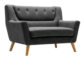Worreno Loveseat Sofa Chair x2