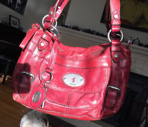 BEST OFFER Fossil Purse Real Leather, Paid $240