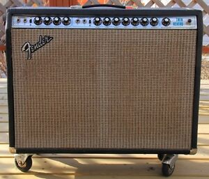 "1975 Fender Twin Reverb ""Silverface"" Amplifier"