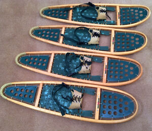 Two Pairs of Xtra Large WinterHiker Hybrid SnowShoes SEE VIDEO