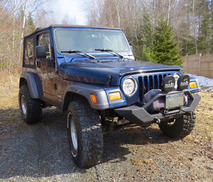 2004 Jeep TJ Rocky Mountain Edition SUV, Crossover