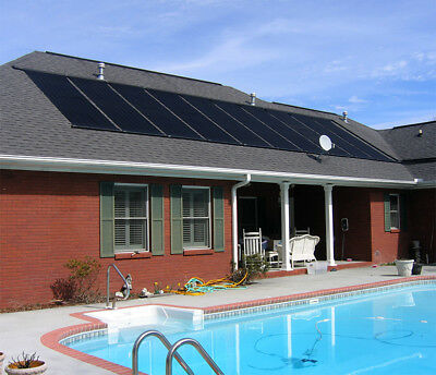 "28""x20' Solar Dynamism Swimming Pool spas Sun Heater Panel Inground Above Ground"