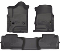 Pickup Truck Black Floor Liners Front & Rear by Husky Liners Winnipeg Manitoba Preview