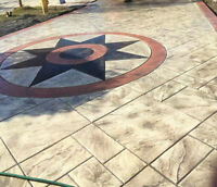 Stamped Concrete Contractor - Decorative, Pattern, Exposed