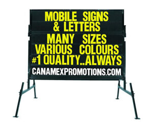Mobile signs ....... Portable Signs...