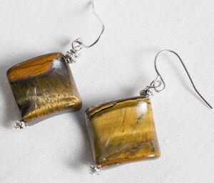 Orecchini-Rombi-Occhio-di-Tigre-Naturale-Argento-Gioielli-Artigianali
