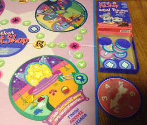 LITTLEST PET SHOP BOARD GAME 4 PET SHOP INCLUDED Gatineau Ottawa / Gatineau Area image 9