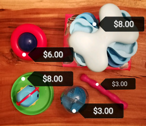 Refurbished Dog Toys & Accessories