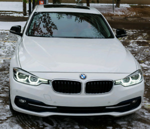 2017 BMW 320i xdrive AWD lease takeover