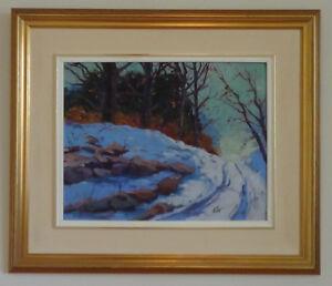 Peinture - Peintre canadien