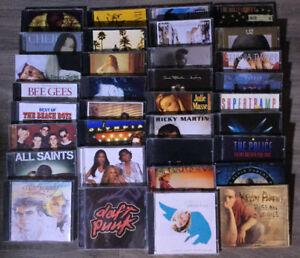 CD à vendre - Plus de 180 titres disponibles!
