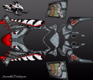 Custom Designed Snowmobile Graphics & Sled Wraps Yellowknife Northwest Territories image 9