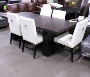 7 Pc Solid Wood Dining Set
