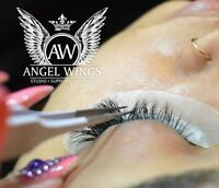 Luxury Eyelash extensions, Pose de cils Luxe. Top quality only!