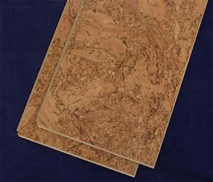 Uniclic Cork Floating Flooring - Great Comfort for Stiff Joints, Headaches, Back Aches Impact Absorbing $3.29 Sq.Ft