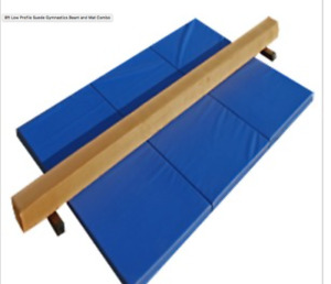 Gymnastics Beam and Mat combo