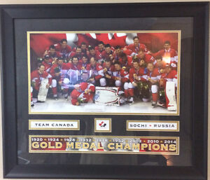 TEAM CANADA GOLD MEDAL CHAMPIONS