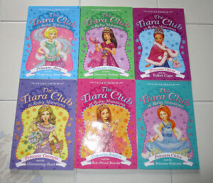 6x The Tiara Club @ Ruby Mansions chapter books (ages 6-9)