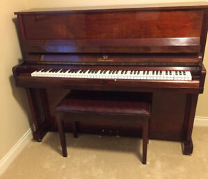 Liebermann upright piano, excellent condition