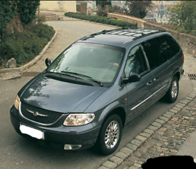 Chrysler Grand Voyager LX 2001 BLUE AUTO 3.3 PETROL