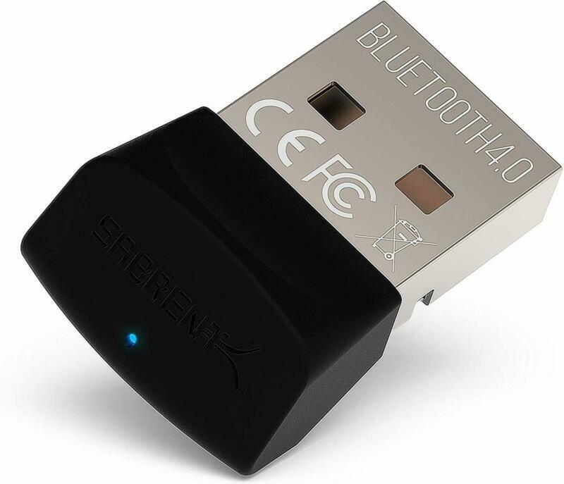 Sabrent Usb Bluetooth 4.0 Micro Adapter For Pc [V4.0 Class 2