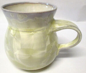 A Jay Z. Crystalline Glaze Arts Craft Porcelain Pitcher