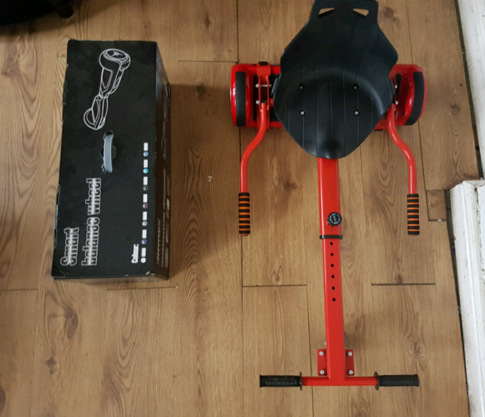 Used, Red segway hoverbourd box charger bag and go kart  for sale  Chesham, Buckinghamshire