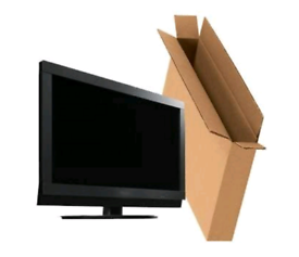 """Empty TV Packaging Boxes From Size 19""""-75"""" Transport/Shipping"""