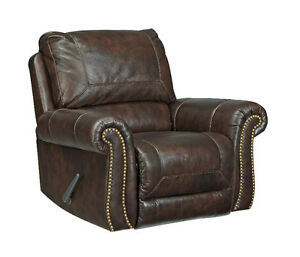 DARLA GENUINE LEATHER RECLINER - $1099 NO TAX- FREE DELIVERY