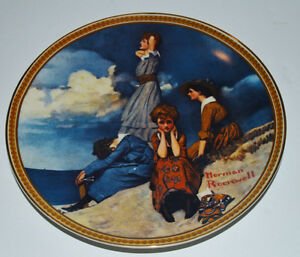 Norman Rockwell Plates, 4 Rediscovered Women Collection +1 Kitchener / Waterloo Kitchener Area image 3