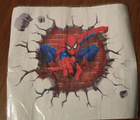 Spiderman 3D Wall Breakthrough Decal