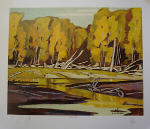 A J Casson Personally Autographed Limited Edition Prints
