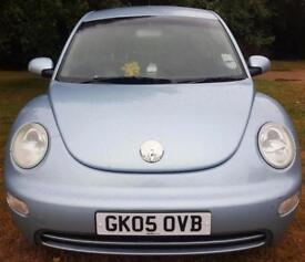 2005 VOLKSWAGEN BEETLE 8V Blue Manual Petrol