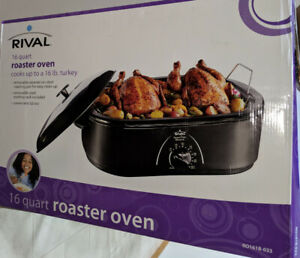 New Rival 16 qt Roaster Oven