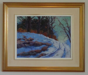 Peinture du peintre canadien Poitras