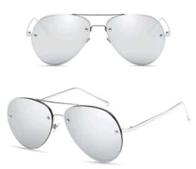 1a2324c2dcb7 Vintage aviator mens womens sunglasses retro shades glasses metal