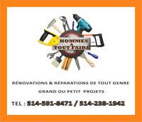 Hommes à Tout Faire et Plus / The Handymen and More
