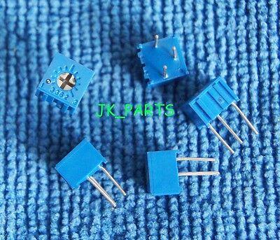 10pcs 100K ohm 3362P-104 3362 P Trim Pot Trimmer Potentiometer MA