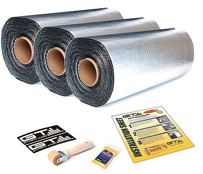 GTMAT Ultra 80mil 150 SqFT Car Sound Deadener Heat Noise Vibration Dampener