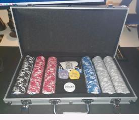 World Poker Tour 300 chip set