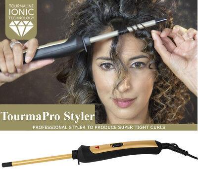 VFM Professional Pro Styler Ceramic Thin Chopstick Curling Wand 200°c Tourmaline - Pro Style Wand
