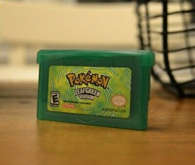 FREE SHIPPING - Pokemon Leaf Green - GBA USA Seller