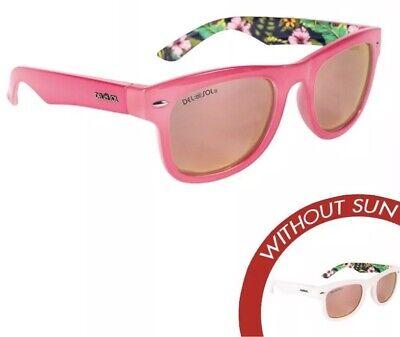 Solize Del Sol Polarized Sunglasses NEW Color Change WHERE I BELONG pink (Belong Sunglasses)